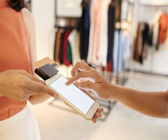 digitalisation du point de vente avec nouveau mode de paiement ce qui facilite l'achat en magasin
